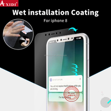 For IPhone 8 Matte Wet Applied screen protective Film Cover Anti Fingerprint