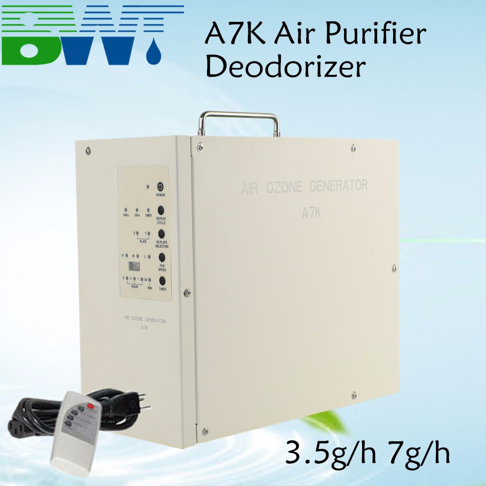 7g/h Portable Ozone Generator <strong>Air</strong> Purifier 220V 110v Kitchen <strong>Air</strong> Cleaner