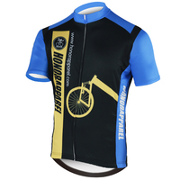 OEM ODM Custom Moisture-wicking Italian Sublimated Lycra Quick Dry Cycling Sportswear