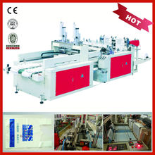 Automatic T-shirt Plastic Carry Bag Making Machine Biodegradable Bag Making Machine