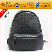 hot sales latest design backpack korean PU leather backpack