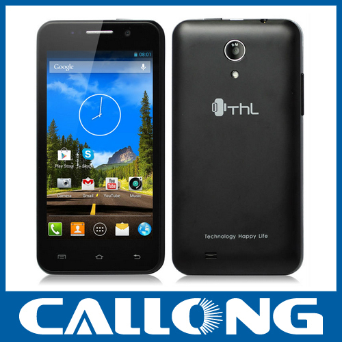 New Original THL W100S 4.5inch Quad Core MTK6582 android 4.2 dual sim 1G/4G mobile phone 3G smartphone