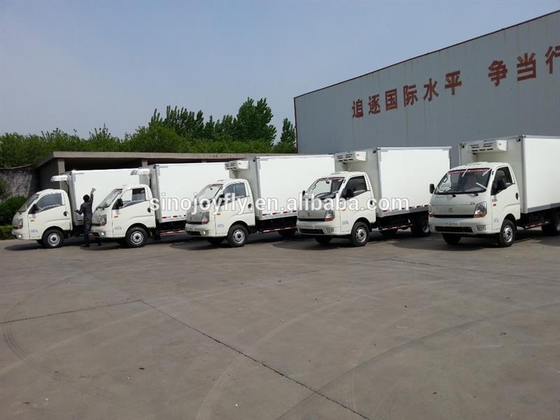 small cargo vehicles refrigeration body boxes