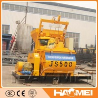 concrete mixer with bucket from China HAOMEI