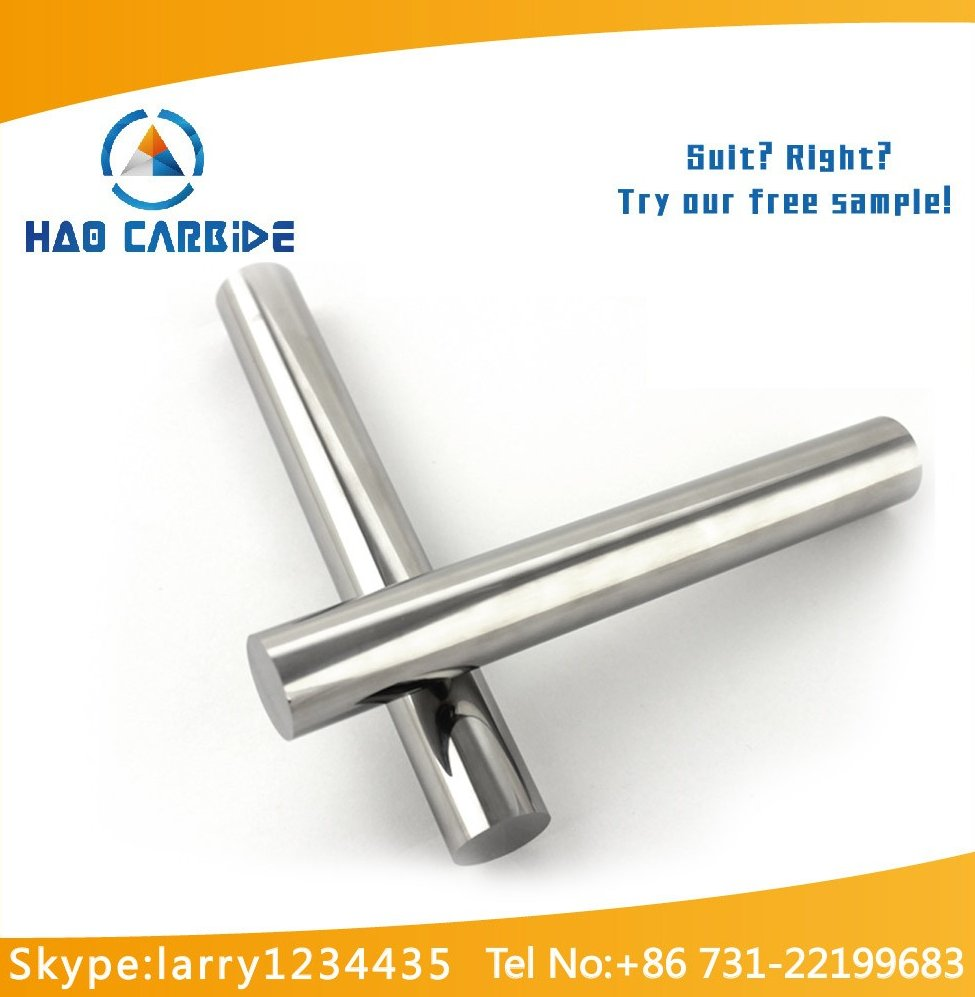 Zhuzhou manufacturer high quality tungsten carbide blanks rod , low price fishing rod blanks wholesale