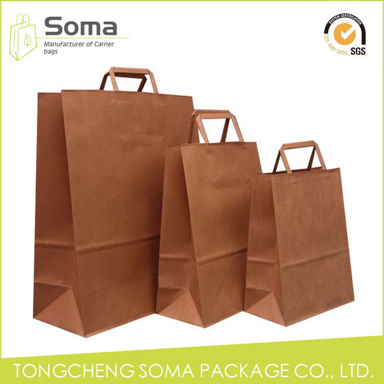 Top grade hot-sale printed luxury paper shopping bag