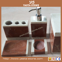 Natural Stone Polished Domestic Bath Accessory Sets