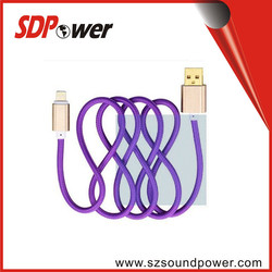 colorful USB cable Data Transmit And charging cable high speed line 35 core