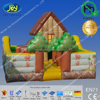 Party and park air filled inflatable bouncer, inflatable bouncer toy, air filled toy