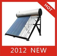 New Integrated Pressure Solar water heater with heat pipe