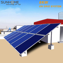 SUNGROW 8KW 8000w 3 phases solar panels with built in inverters wholesale china sungrow watt monocrystalline from SUNHOME