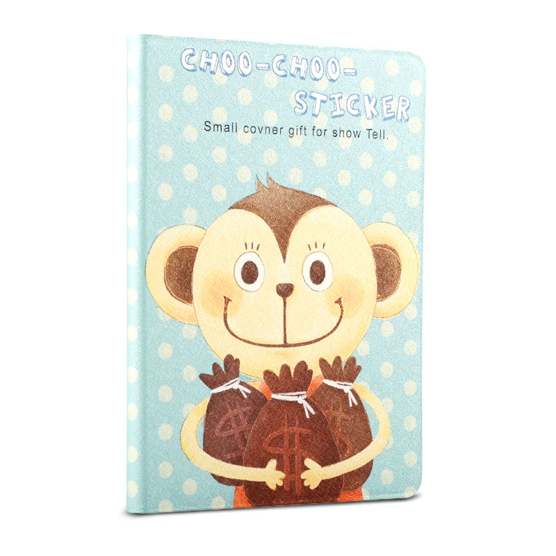 8-inch animal pattern magnetic universal color printing tablet case kids cover for Ipad mini 1/2/3 for ipad mini