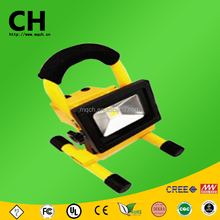 5 w cob y smd mango recargable de carga led exterior de trabajo light led flood light lámpara de mano portable