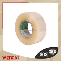 factory made clear/transparent Acrylic bopp packing tape box sealing bopp pearlized film