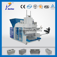 QMY10-15 simple brick making machine /egg laying concrete block machine / industial mobile block making machine