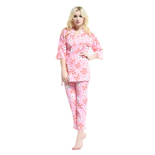female home choice clothes clothing women matching family pajamas lounge pants set sleepwear ladies' home wear loungewear