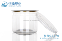 Plastic pet jars for candy packing
