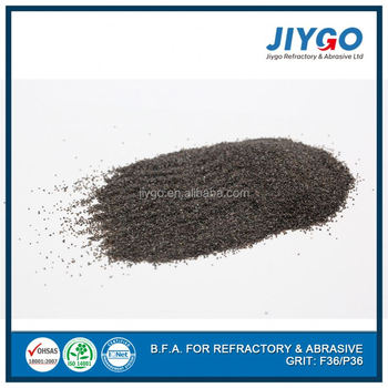 Above 95% AL2O3 abrasives grit blasting brown fused alumina price