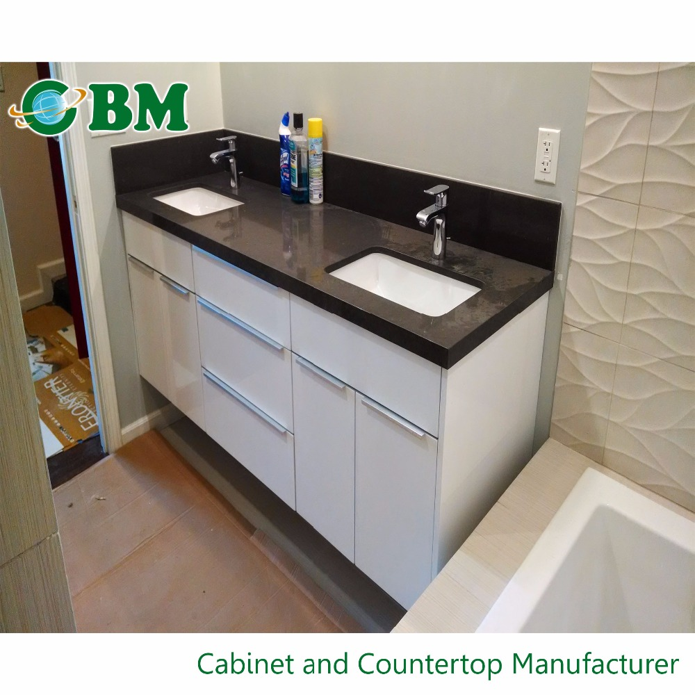Hotel Project Bathroom Molded Sink Countertop
