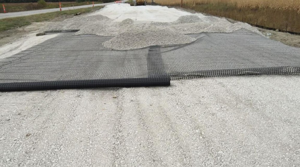 15-50kN/m PP Biaxial Geogrid for subgrade stabilization