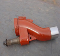 Putzmeister concrete pump S valve, concrete pump S tube, concrete pump spare parts