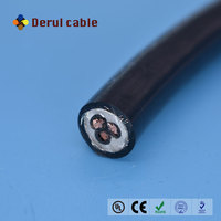 H05RN-F 300/500V Neoprene rubber sheath 3 core cable with EPR insulation
