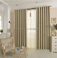 100%polyester blackout luxury european style hotel window curtain