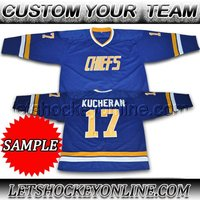 Best quality teams sublimated custom ice hockey jersey