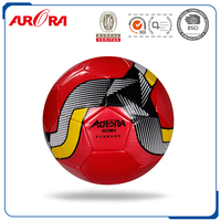 Promotional Machine Stitched Cool Professional Football high quality football / soccer ball with customized logo