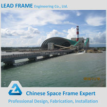 supplier of space frame steel structure project for coal storage