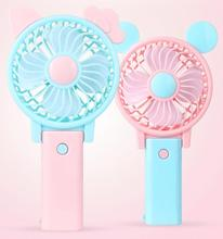 Portable Hand Held Electrical fanTable Folding Mini USB Rechargeable Hand Fan