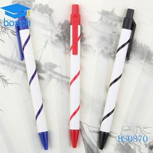 Wholesale environmental plastic eco friendly recycled paper mate pen