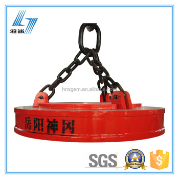 MW5 Circular Electric Magnetic Lifter for Scraps and Cast Iron