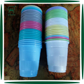 high quality colorful 200ml disposable pp cups