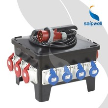 SAIP/SAIPWELL New Plastic Waterproof Combination Power Mobile Socket Box