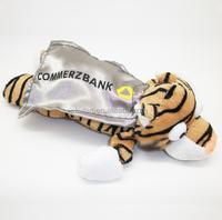 Novelty Customized Plush Tiger Flingshot Flying Slingshot Toy/Animal with Scream Sound