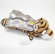 Novelty Customized Plush Tiger Flingshot Flying Slingshot Toy/Animal with Scream Sound