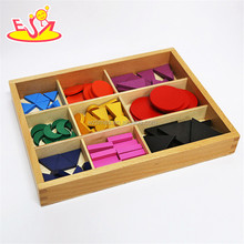 2017 New design toddlers educational wooden montessori classroom materials W12F019