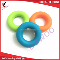Muscle massage equitment -Colorful silicone massage ring for hand fitness