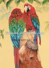 Animal Canvas Oil Painting(Parrot)