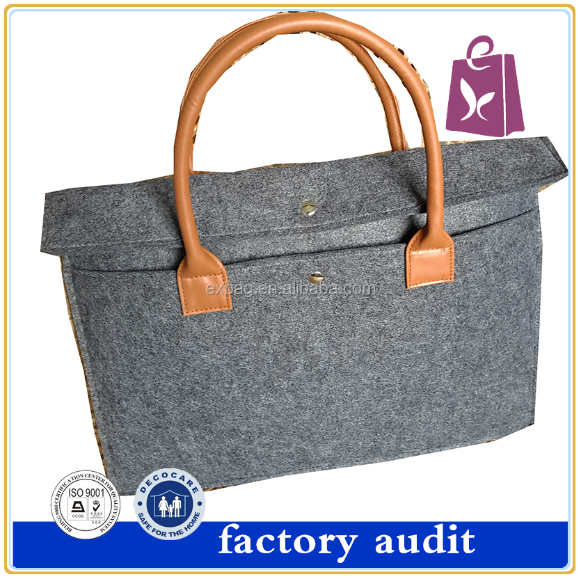 European fashion high quality pu leather handle woman cheap handbags OEM wholesale new design