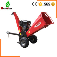 Manufacturer factory wood chipping machine / wood chipper shredder / wood chipper with high efficiency gasoline