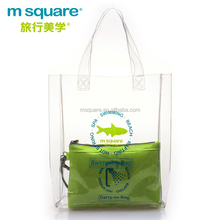 2012 best selling pvc plastic msquare soft beach towel bag for promotional