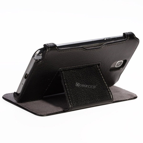 HIgh quality hot formed flip leather stand case for Samsung Note 3 phone