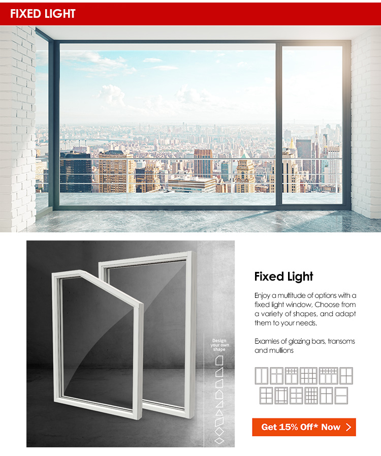 fixed windows standard sizes