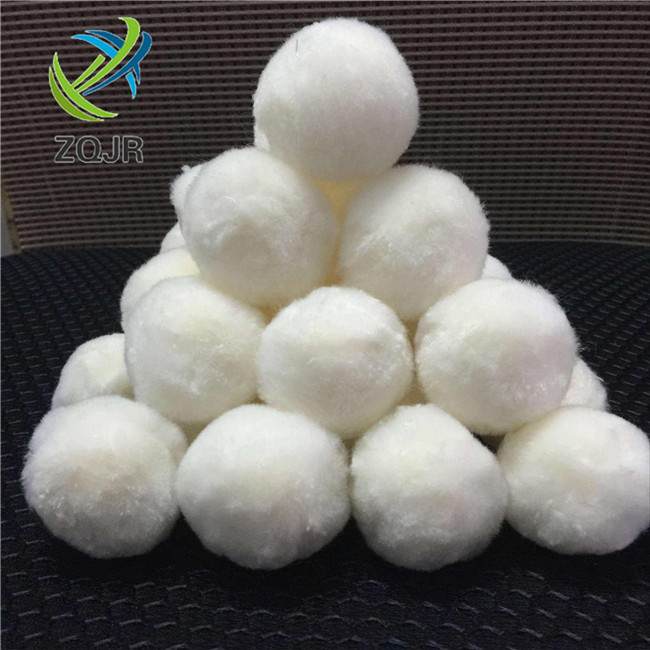 Polyester Fiber Ball Filter Media For Drinking Water