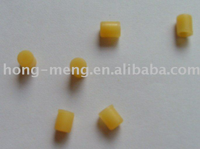 Rubber caps for infusion and transfusion sets