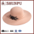 women 100% polyester christmas hat tan,polyester winter hat