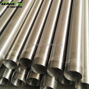 Stainless Steel Johnson Water Filter Screen Pipe for well drilling