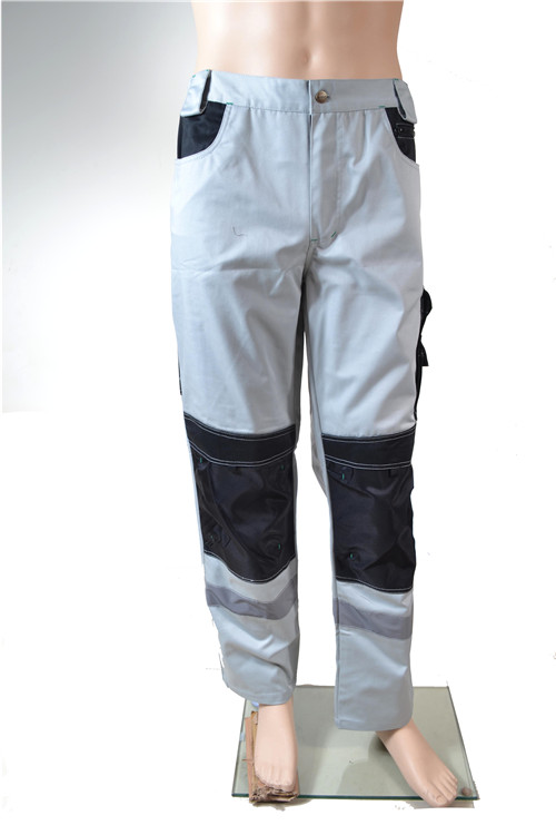 High visibility reflective winter work pants